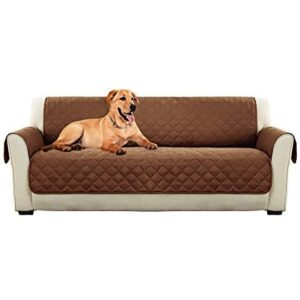 3-Seater Pet Couch Cover - Brown