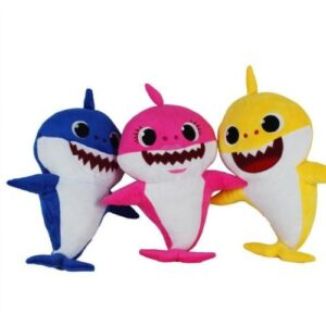 30cm Plush Baby Shark - Assorted Colours
