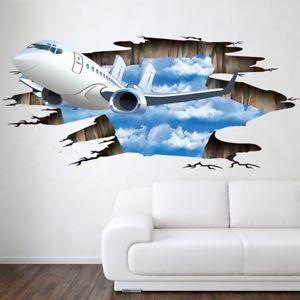 3D Wall or Floor Stickers - Plane