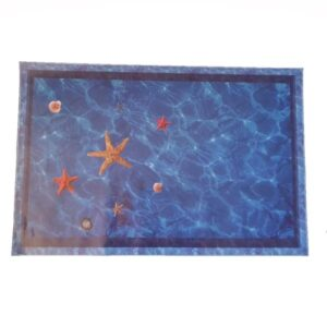 3D Wall or Floor Stickers - Sea Stars