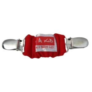 4aKid Car Strap Clip - Red