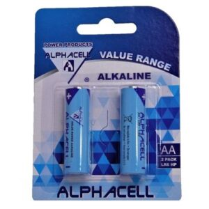 Alphacell Value Battery - Size AA 2pc
