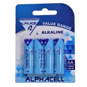 Alphacell Value Battery - Size AA 4pc