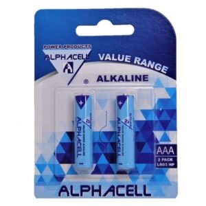 Alphacell Value Battery - Size AAA 2pc