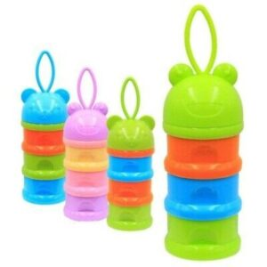 Baby Milk Powder Dispenser - Assorted Colours