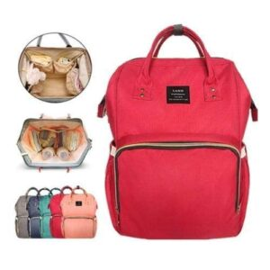 Backpack Baby Bag - Red