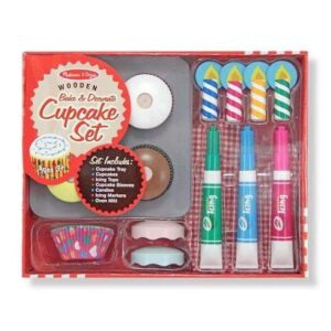 Melissa & Doug - Bake and Decorate Cupcake Set