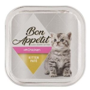 Bon Appetit Kitten Paté With Chicken - 100g