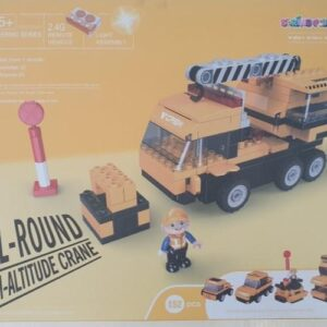 Building Blocks With Remote Control - Construction Truck