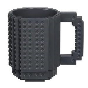 Building Brick Mug - Black