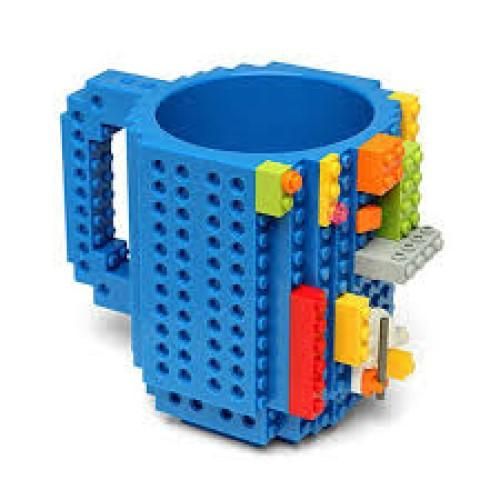 Building Brick Mug - Blue