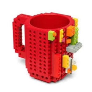 Building Brick Mug - Red