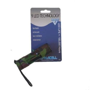 Camo Torch 9 LED