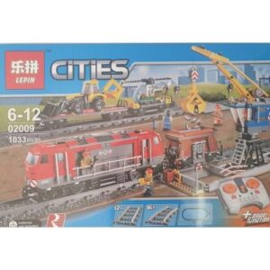 Building Blocks with Remote Control - Cities Train
