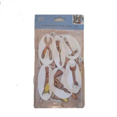 Cookie Cutter Set - Construction Tools