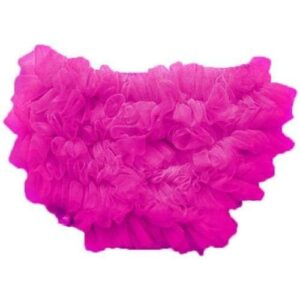Smitten Ruffled Diaper Cover - Hot Pink 2-4 yrs