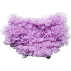 Smitten Ruffled Diaper Cover - Lilac 2-5yrs