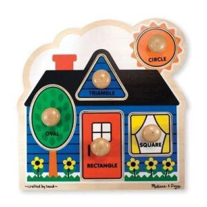 Melissa & Doug - First Shapes Jumbo Knob Puzzle