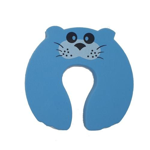 Foam Door Stopper - Blue Mouse