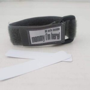 Kids ID Wristband - Grey