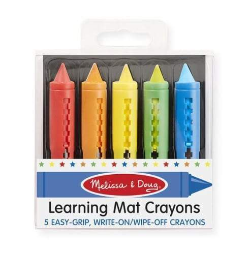 Melissa & Doug - Learning Mat Crayons