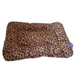 Leopard Print Pet Bed - Medium