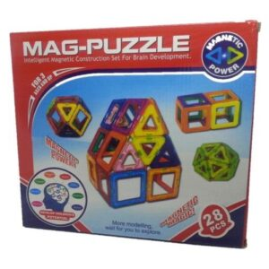 Magnetic Mag-Puzzle 28pc