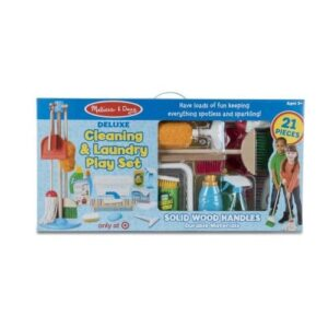 Melissa & Doug - Deluxe Cleaning & Laundry Play Set