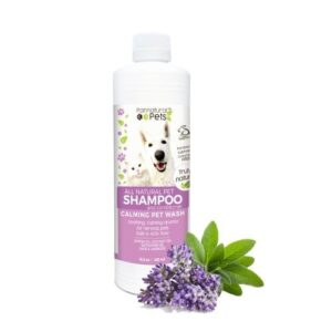 Natura Pets - Calming Lavender Pet Wash for Dogs & Cats