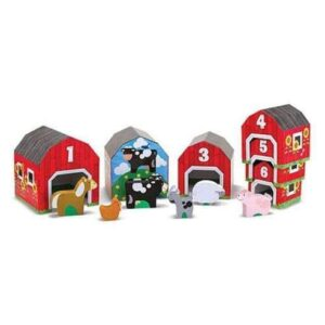 Melissa & Doug Nesting & Sorting - Barns & Animals