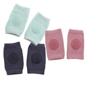 Pack of 3 Baby Knee Pads - Girls