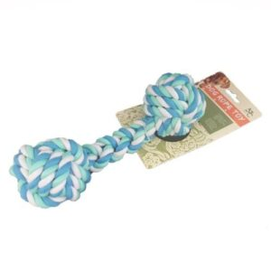 Pet Rope Tug Toy for Dogs - Blue/Aqua
