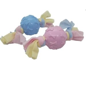 Puppy Teething Ball - Assorted Colours