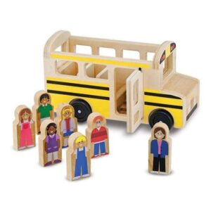 Melissa & Doug Wooden - Classic School Bus