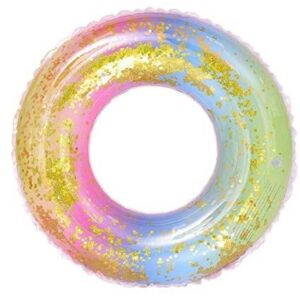 Sequin Rainbow Swimming Ring 70cm