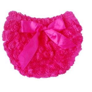 Smitten Rosette Diaper Cover - Bubblegum 2-5 yrs