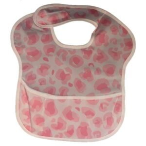 Waterproof Baby Bib with Crumb Catcher - Assorted Designs