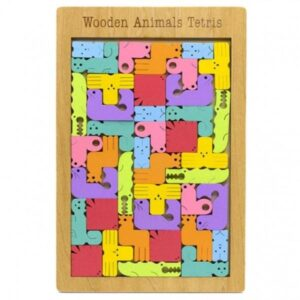 Wooden Animal Tetris