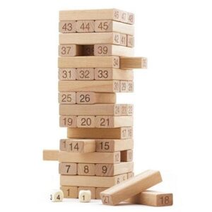 Wooden Blocks 54pc Jenga Game