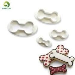 Cookie Cutter Set - Doggy Bones