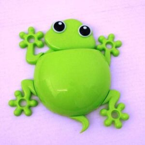 Gecko Toothbrush Holder - Green