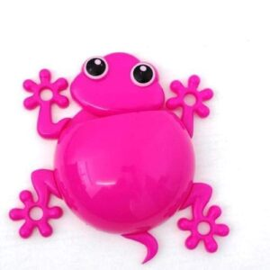 Gecko Toothbrush Holder - Pink