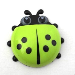 Ladybug Toothbrush Holder - Green