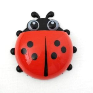 Ladybug Toothbrush Holder - Red